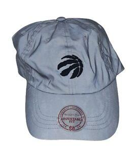 Toronto Raptors Men's Mitchell & Ness NBA Adjustable Dad Hat Cap - Reflective