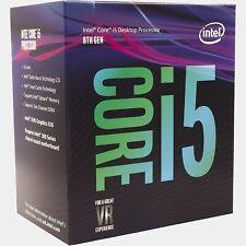Intel Core i5-8400 2.8 GHz Hexa Core Processor w/stock cooler