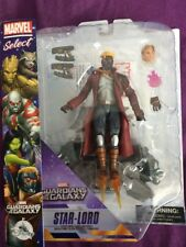 Disney Marvel Select Action Figure - Star-lord Guardians Of The Galaxy Star Lord