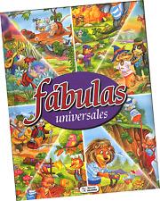 """LIBRO ILUSTRADO """"FÁBULAS UNIVERSALES"""", EN ESPAÑOL."""