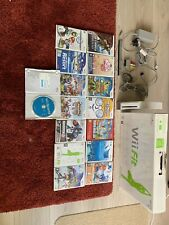 BIG Nintendo Wii Console Bundle + 15 Games + 3x Controllers + 2x Nunchuck + More