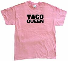 Taco Queen Womens Tee Shirt Pick Size Color Petite Regular