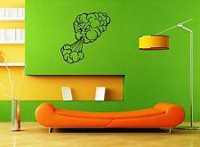 Wall Stickers Vinyl Decal Nursery For Kids Cartoon Cloud Wind ig1690