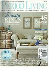 PERIOD LIVING,   JULY, 2013  ( BRITAIN'S BEST SELLING PERIOD HOMES MAGAZINE )