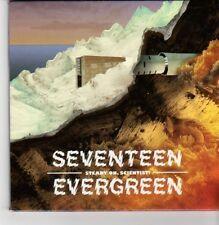 (DN386) Seventeen Evergreen, Steady On Scientist - 2012 DJ CD