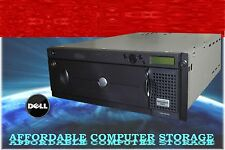 DELL PowerVault 132T SDLT 320 Tape Library SDLT320 DUAL DRIVES PV132T LVD Loader