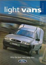 Ford Fiesta Van Courier Escort Van 1995-96 UK Market Sales Brochure