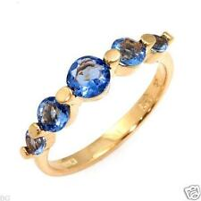 5 Stone-1.46ctwTanzanite Band Ring Size7.0