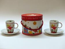 Tassen & Untertassen im Shabby Stil aus Porzellan fürs Esszimmer