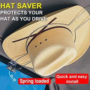 Car Hat Holder Saver Equestrian Riding Helmet Akubra Hat Hard Spring Load Cover
