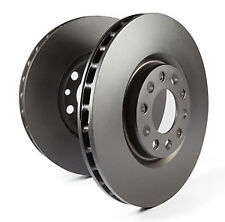 EBC Replacement Front Solid Brake Discs for Triumph TR6 2.5 (72 > 76)