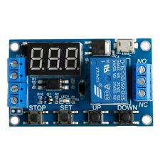 6-30V Cycle Adjustable Relay Module Switch Trigger Time Delay Circuit Timer