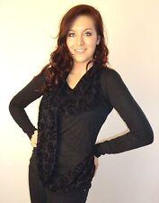 V Neck Velvet Casual Tops & Shirts for Women
