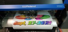 New Listingroland Printer Cutter True Vis Sg 300 Only 58 Hours Of Use On Printer