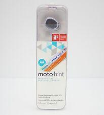 Motorola Moto Hint+ 2nd Generation Interactive Wireless Earbud - Retail Box