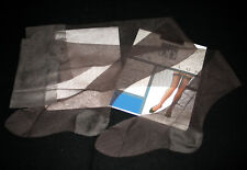 "BAS PJ T 1 (72 cm) FRANCE ""DD 2 x 10"" TANIN NYLON LISSE LINGERIE VINTAGE SEXY"