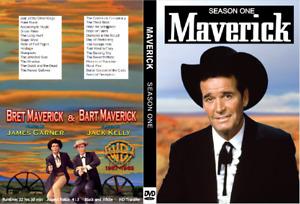 MAVERICK Season One (1957-1962 TV Series) James Garner Jack Kelly
