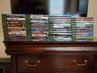 Original (OG) XBox games - complete and pristine condition