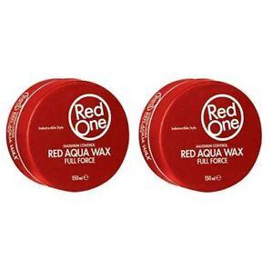 Red One Red Aqua Hair Wax - Full Force - 150ml (2 PCS OFFER), Premium Hair Wax👌