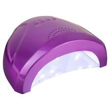LED UV Lampe Gel 24/48 Watt Nagelstudio Lichthärtungsgerät Nagel Lampe Lila