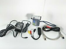 Sony Dcr-Ip7 MicroMv Camcorder w/ Usb, Av cable, Tested, Great for transfer
