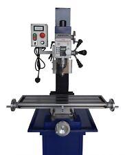 AMADEAL - AMAT25LV Milling Machine - Long Table - Belt Drive - Brushless Motor