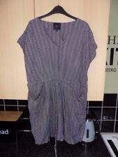 Viscose Regular Size Striped NEXT Dresses for Women