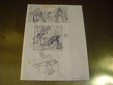 DYLAN DOG N. 88 OLTRE LA MORTE ORIGINAL ART MATITA MARCO SOLDI FIRMATA PAG. 76