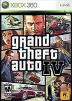 Grand Theft Auto IV Xbox 360/One Game Gta 4 Complete W/map