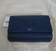 NWT Kate Spade Leather Betsi Bridge Place Crossbody Bag Shoulder Bag Navy