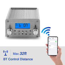 15W PLL FM Transmitter Broadcast Stereo Digital Station 87-108MHz High-Fidelity