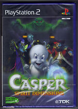 PS2 Casper Spirit Dimensions (2001), UK/Euro Pal, French, New & Factory Sealed