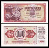 YUGOSLAVIA 100 Dinara, 1986, P-90c, UNC World Currency