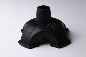 aPallo Medical QT Quad Cane Tip, Black, 0.63-Pound Rubber Easy Help Assistant