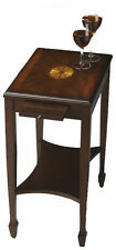 Petite Cherry Chair Side Table - Real Wood Inlays Butler 4107024