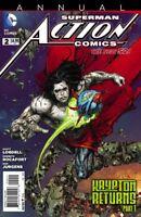 Action Comics Annual #2 Superman Doomed New 52 DC Comics 1st Print 2013 NM