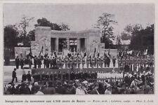 1930  --  INAUGURATION DU MONUMENT AUX MORTS 4568  DE REIMS   3I468