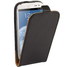 Samsung Galaxy S3 Galaxy S3 Neo Case Handytasche Flip Ledertasche Schwarz