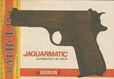 X9939 Jaguarmatic automatica - EDISON Match Line - Pubblicità 1976 - Advertising