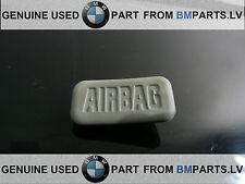 OE BMW 1 3 5 6 X5 X3 X6  SERI  COVER CAP AIRBAG FRONT PILLAR TRIM GRAY