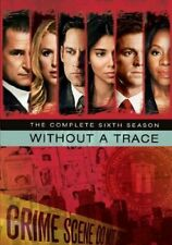 Without A Trace Complete 6th Season Dvd Anthony LaPaglia New Factory Sealed
