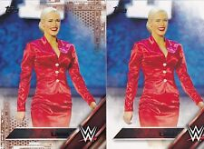2016 TOPPS WWE SEXY LANA COPPER PARALLEL WRESTLING CARD READ