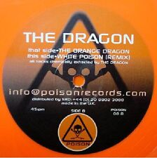 The Dragon - The Orange Dragon / White Poison (Remix)  NEW 12 inch Orange Vinyl