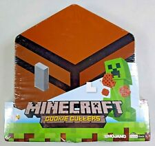 Minecraft Cookie Cutters - 5pc. Set in Collectible Tin - Mojang/Think Geek