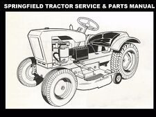 SPRINGFIELD 65 66 TRACTOR OPERATIONS PARTS MANUALs for Tractor Service & Repair