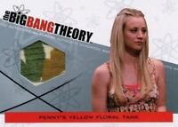 Big Bang Theory Seasons 3 & 4 Penny's Floral Tank Wardrobe Costume Card M-10