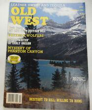 Old West Magazine Buffalo Wolfers Summer 1982 071615R2