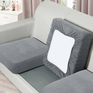 1/2/3 Seater Sofa Seat Covers Couch Knitted Protector Slipcover Cushion Elastic