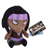 "MOPEEZ THE WALKING DEAD MICHONNE 5"" SOFT PLUSH FIGURE FUNKO BRAND NEW"