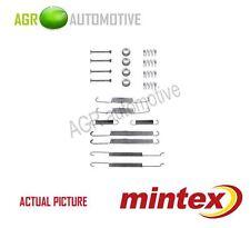 MINTEX REAR BRAKE SHOES SET FITTING KIT PIN SPRINGS GENUINE QUALITY - MBA726